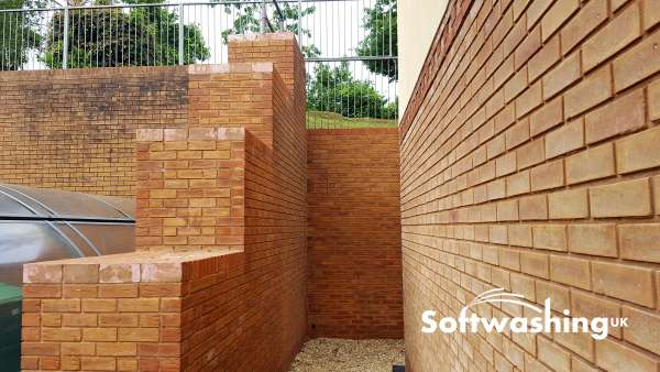 Brick Cleaning with Softwashing | Brickwork Cleaning