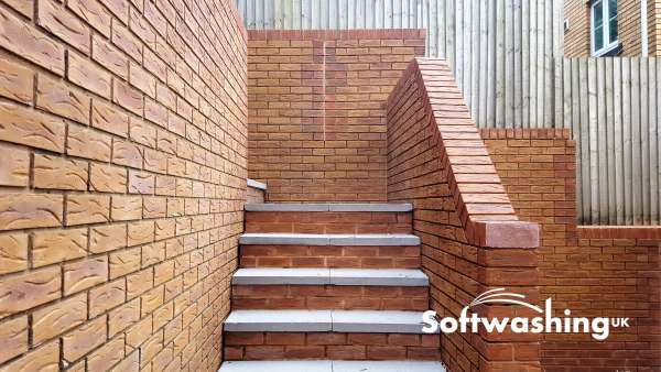 Brick Restoration with Softwashing | Cleaning Old Brickwork
