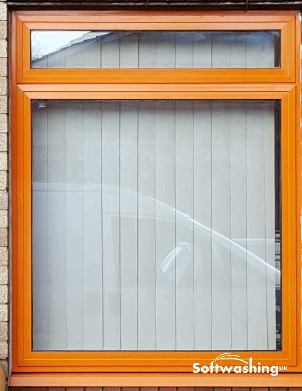 Aluminium Window and Door Frame Restoration with Softwashing UK