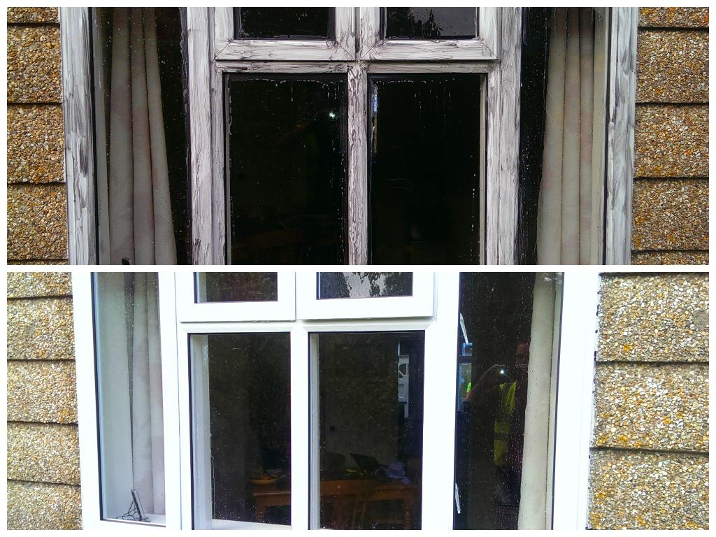 Clean upvc window frames frame design reviews for Upvc windows and doors